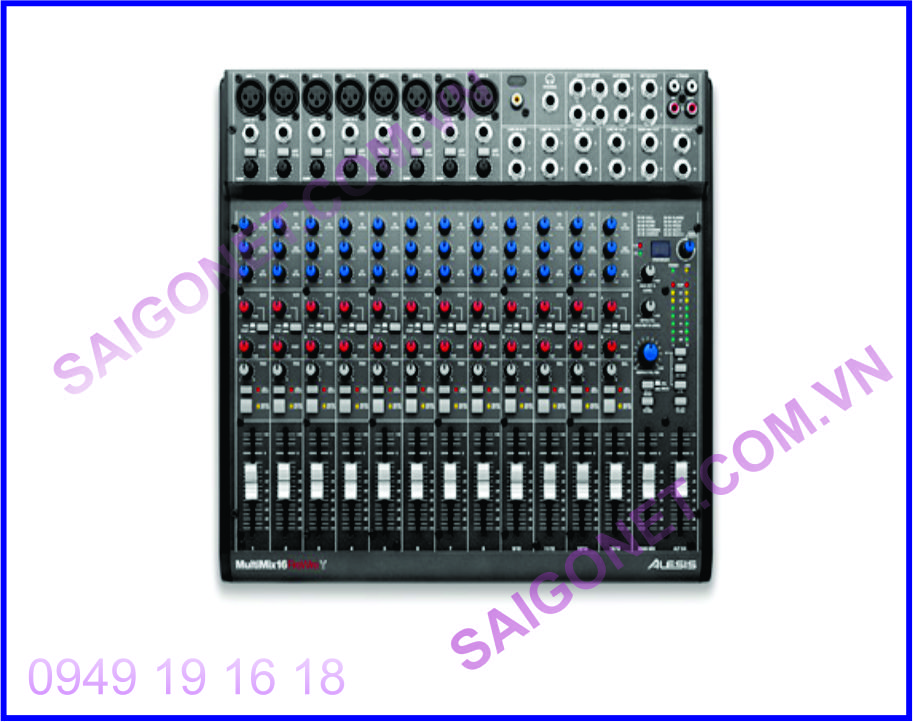 Mixer phòng thu âm