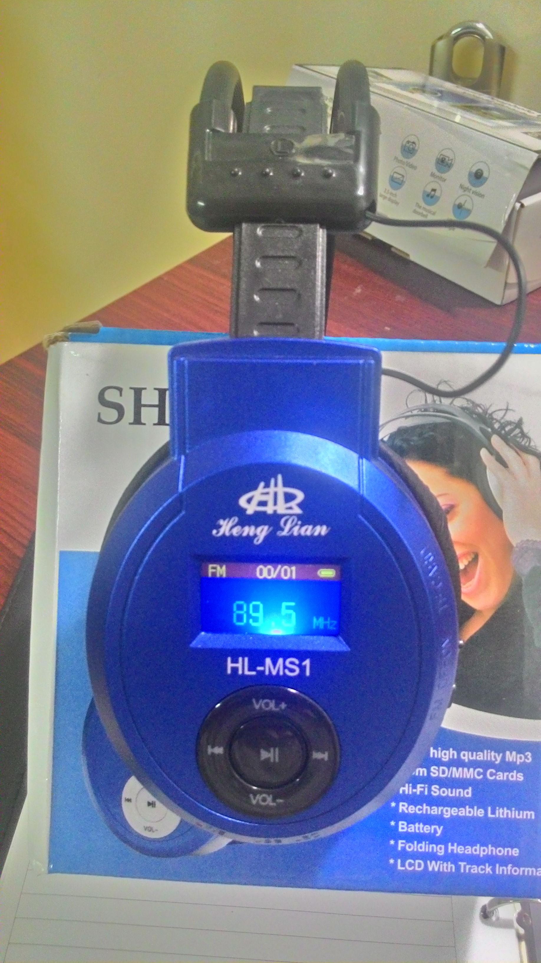 Tai nghe không dây thu đài FM SH-S1