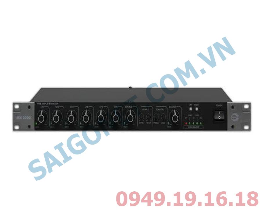 Bộ Mixer Pre-Amplifier 12 ngõ vào Amperse MX2222
