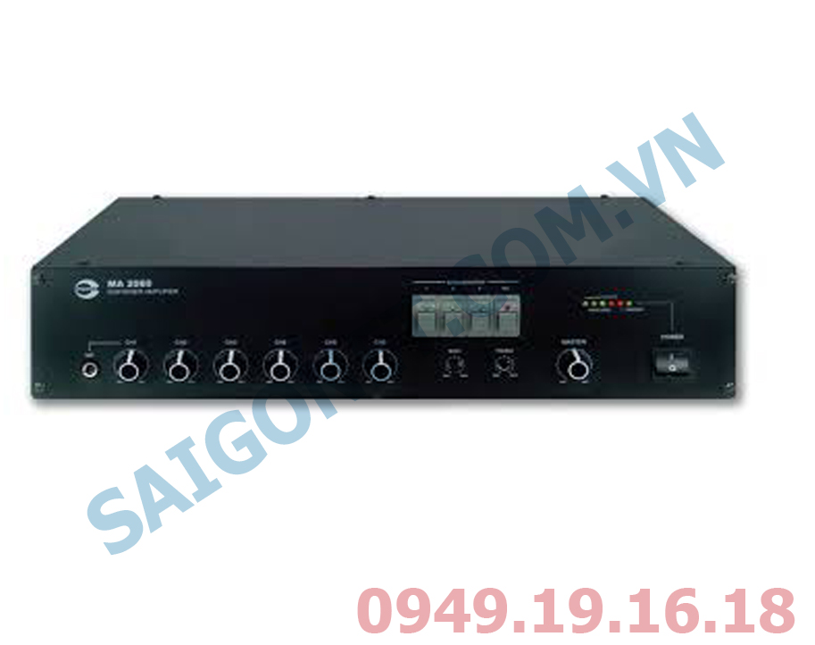 Amplifier liền Mixer Amperes MA2060
