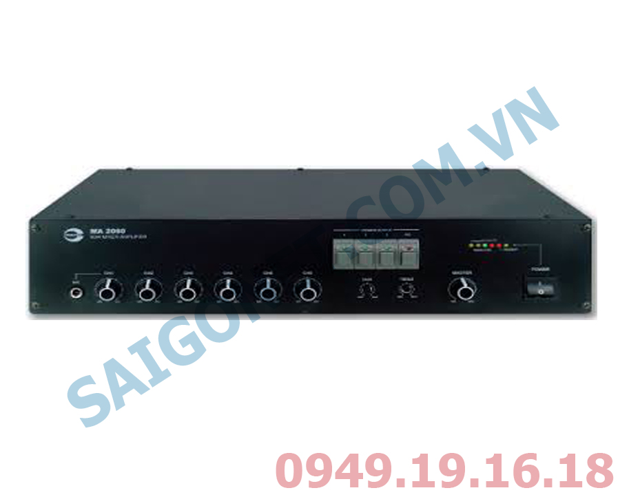 Amplifier liền Mixer Amperes MA2012