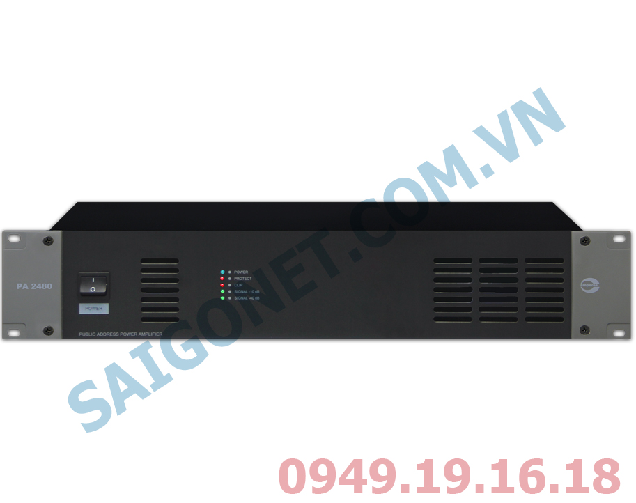 Ampli công suất 360W Amperes PA2360