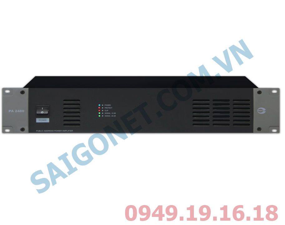 Ampli công suất 480W Amperes PA2480