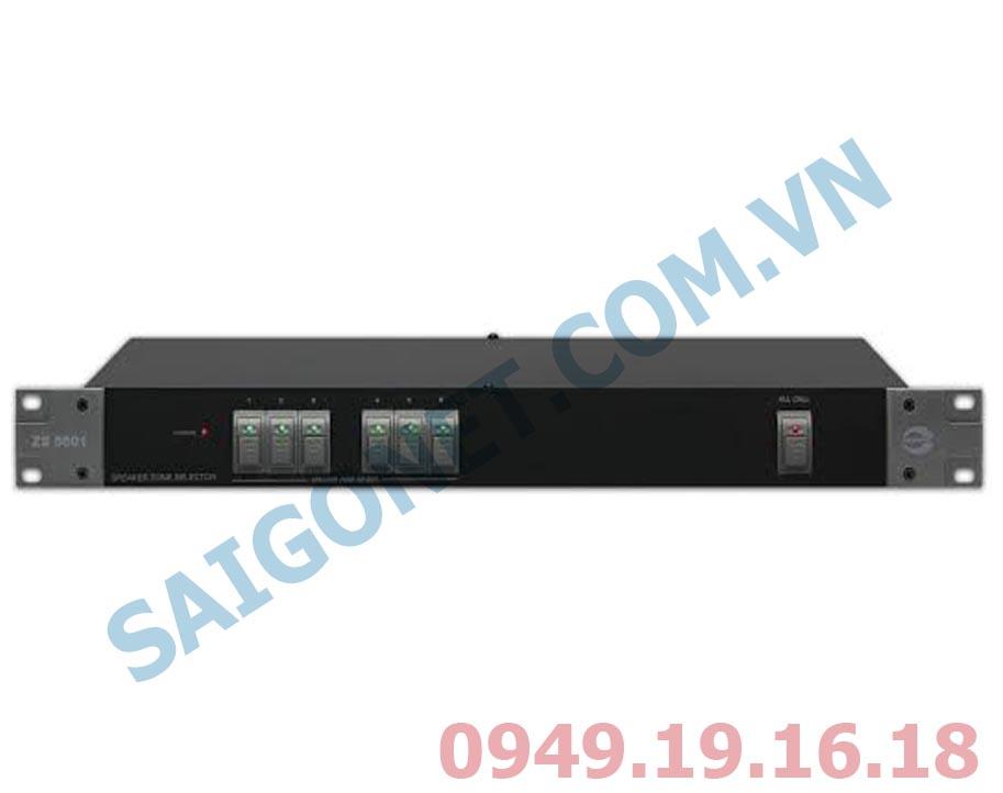 Bô chọn vùng Loa 6 kênh Amperes ZS5601
