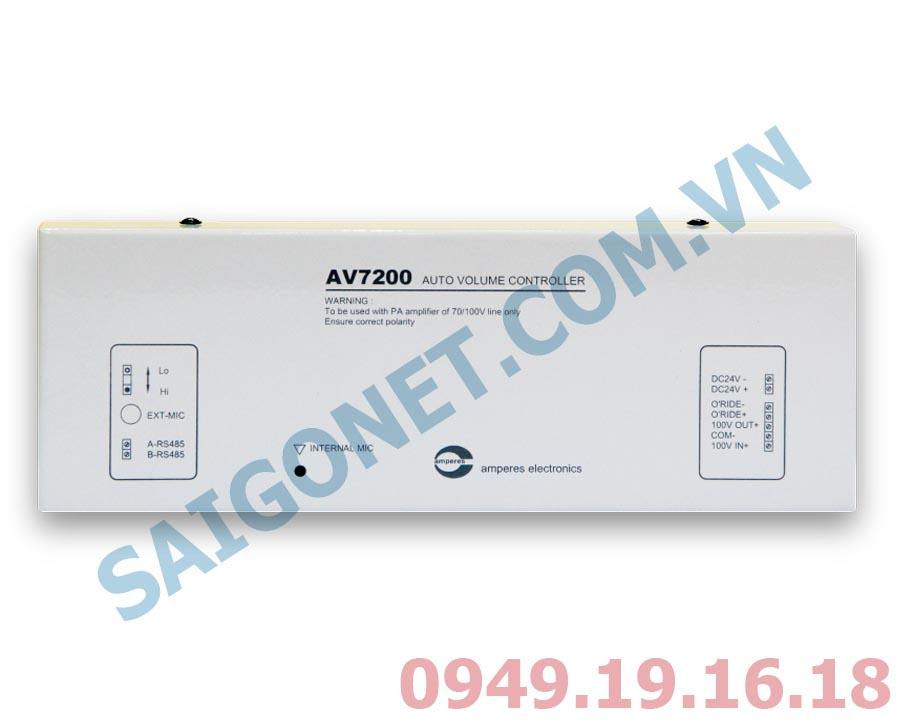 Bộ điều khiển âm lượng tự động 100W 100V Amperes  AV7200