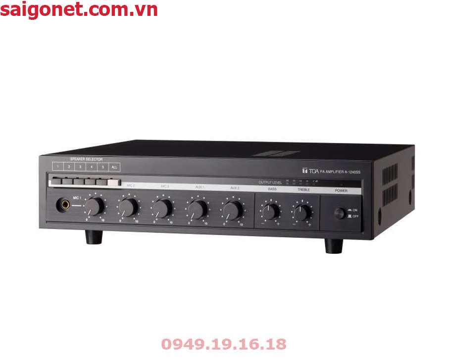Amply Mixer 360W 5 vùng TOA A-1360SS