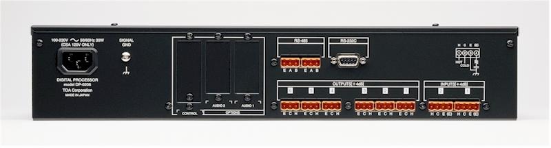 Bộ xử lý tín hiệu số TOA DP-0206 CE