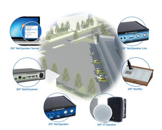 Chuyên tư vấn, cung cấp, lắp đặt, bảo hành các thiết bị âm thanh đa vùng IP 2N Net Audio