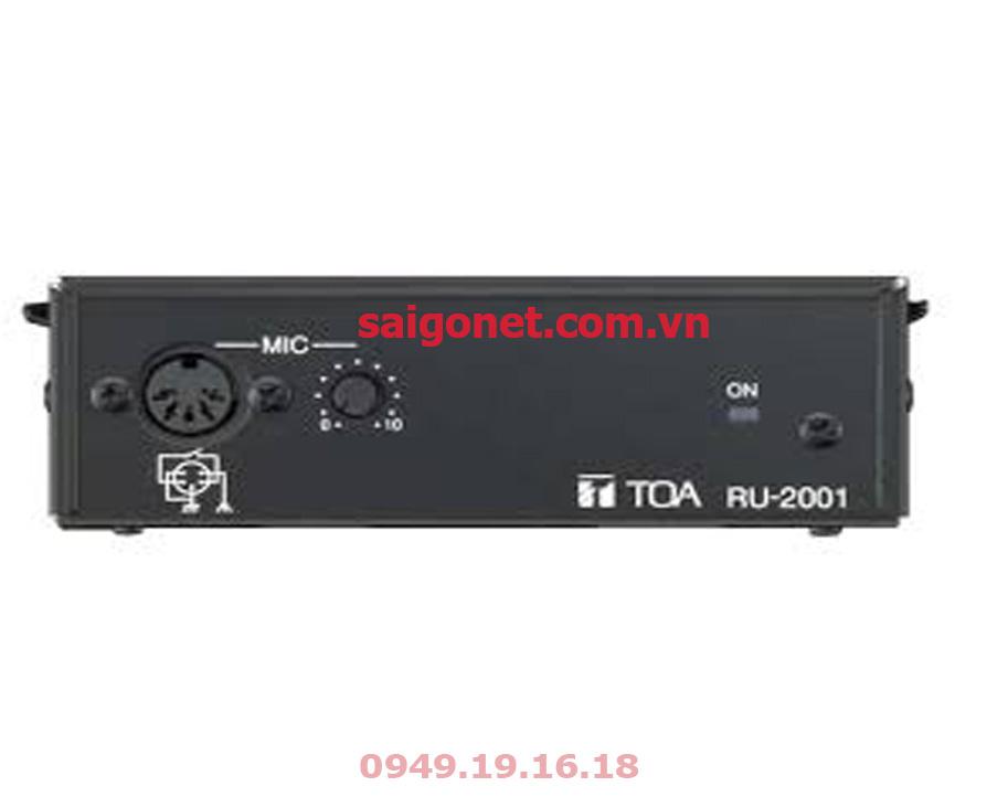 Bộ khuếch đại tín hiệu Micro TOA RU-2001