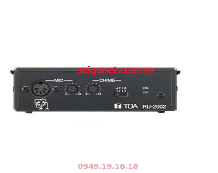 Bộ khuếch đại tín hiệu Micro TOA RU-2002
