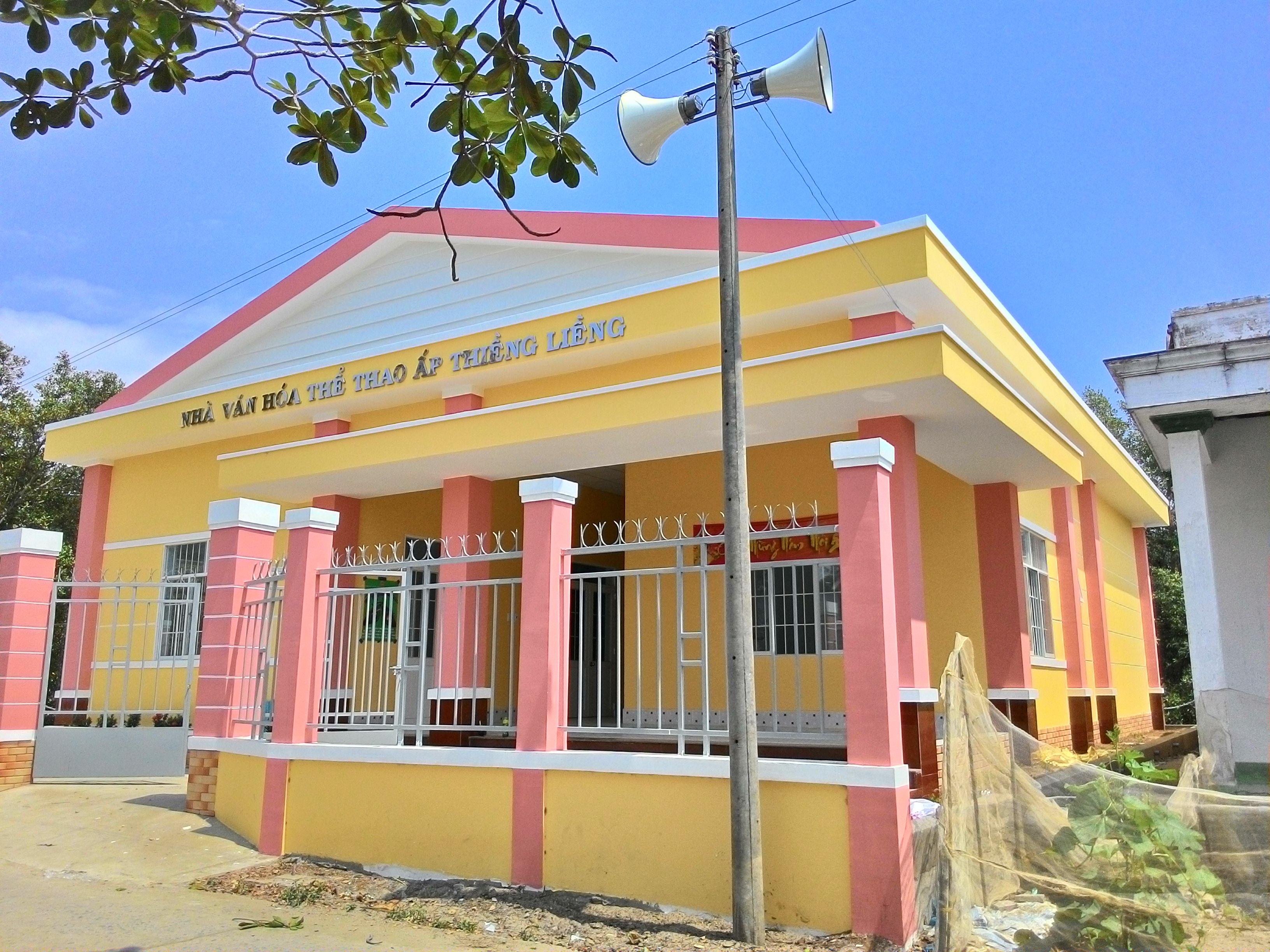 Lắp đặt hệ thống truyền thanh có dây cho Xã Thạnh An - Huyện Cần Giờ - TPHCM