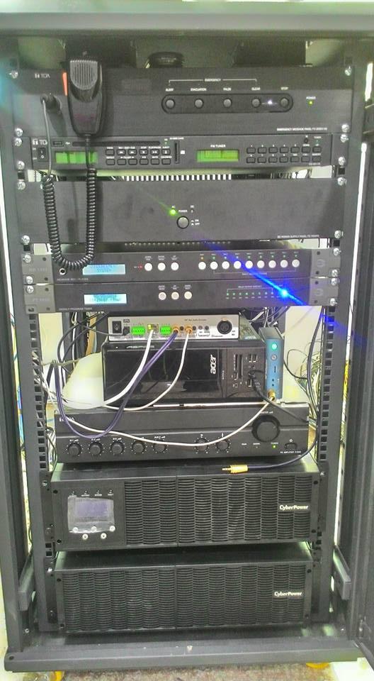 Thiết kế, lắp đặt hệ thống âm thanh thông báo IP 2N Net Audio Decoder tại công ty may Quảng Việt