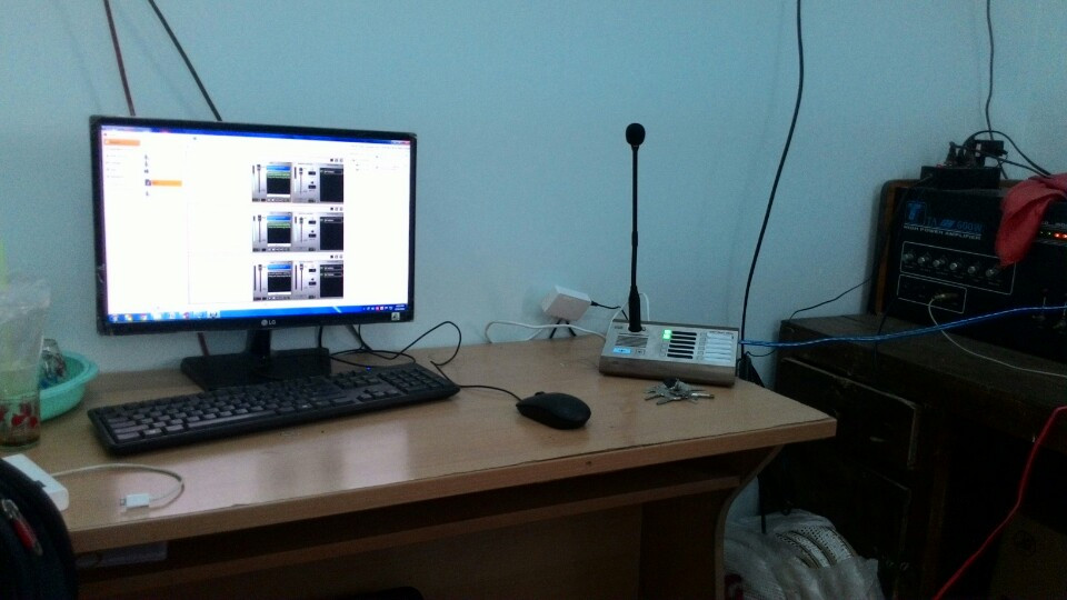 Hệ Thống Âm Thanh IP 2N Net Audio Kết Hợp Camera quan sát