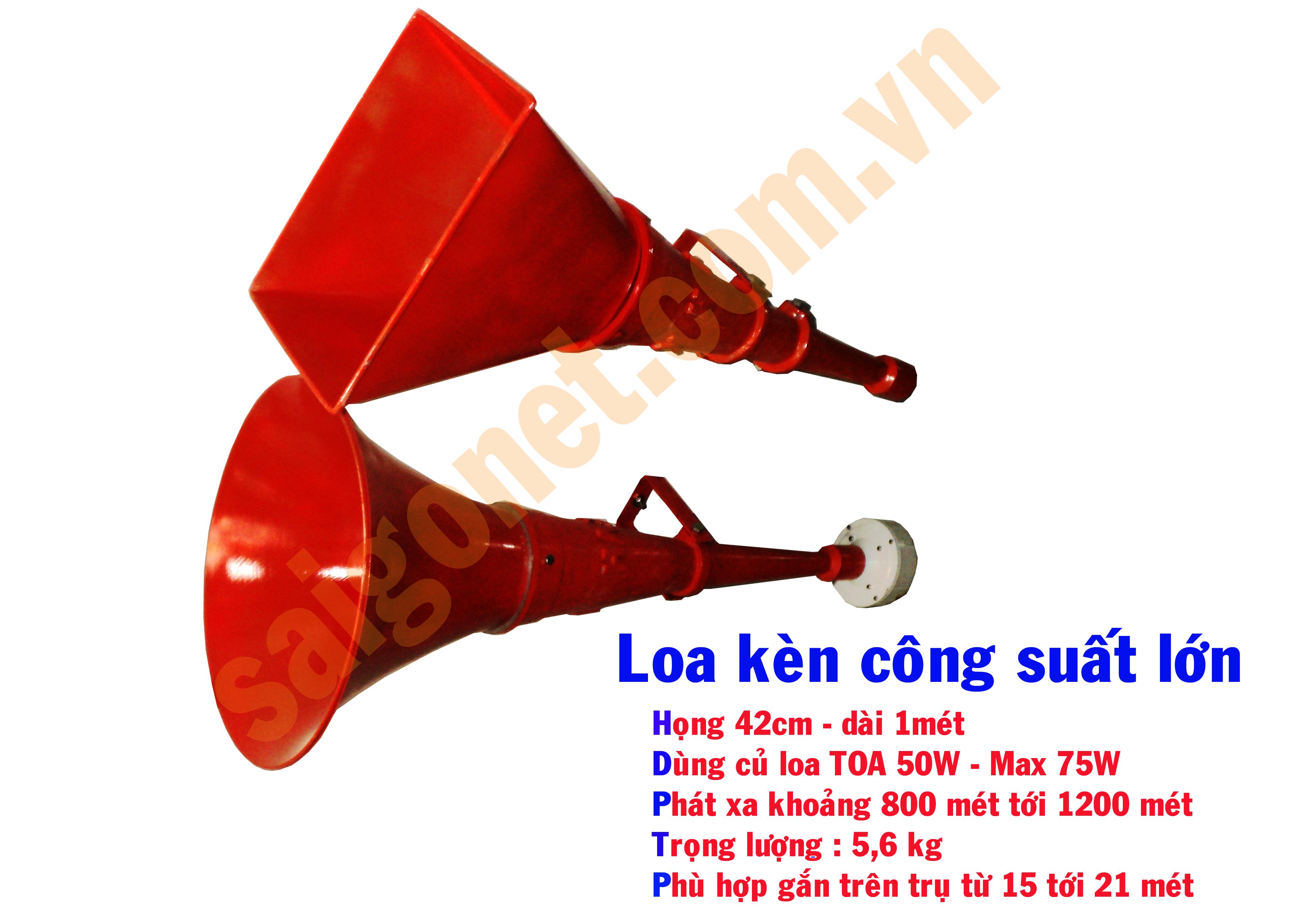 Loa kèn phát thanh 50W LK-50KVH