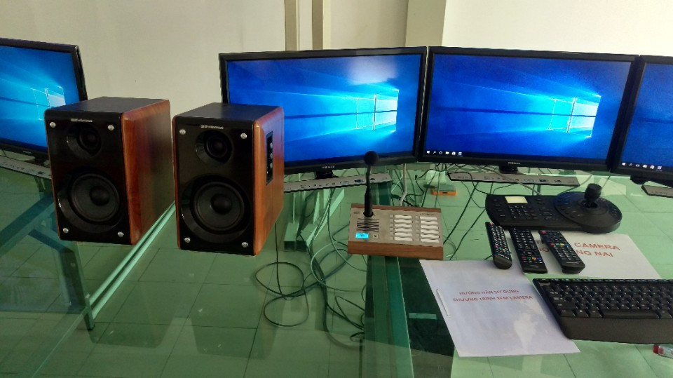 Hệ thống âm thanh IP 2N Net Audio kết hợp Camera quan sát cho nhà máy sản xuất LiOA KCN Biên Hòa 2