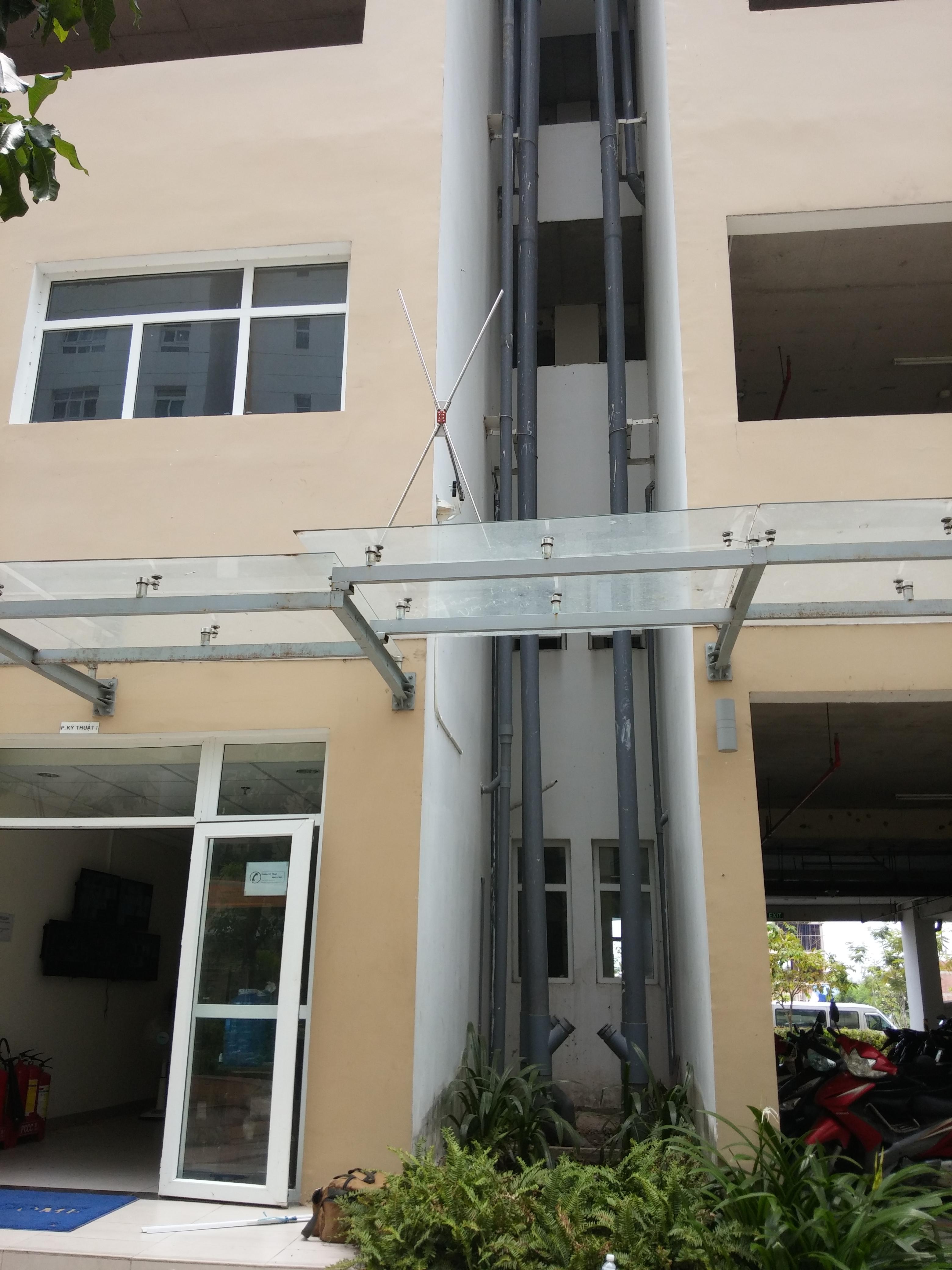 Hê thống âm thanh công cộng không dây cho chung cư Sunview Thủ Đức