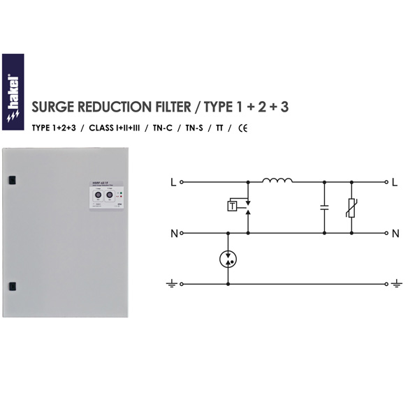 Tủ thiết bị cắt sét HSRF-63 1F