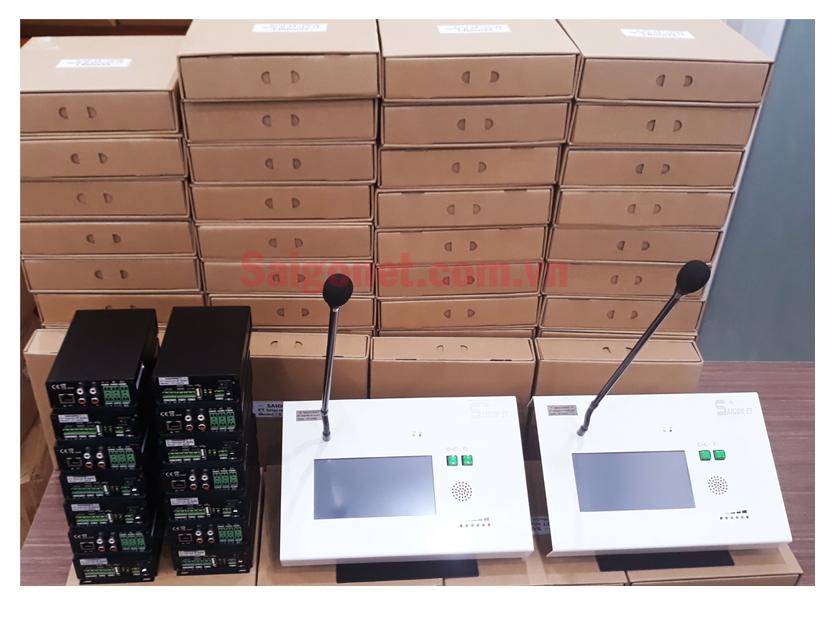 Micro chọn vùng  ET Internet IP Audio MIC ET-208D