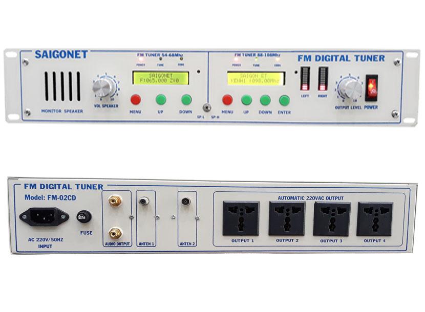 Bộ thu FM chuyên dụng FM-02CD